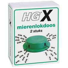 HGX MIERENLOKDOOS 2 STUKS 2 ST