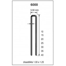 DUTACK NIET 6025 CNK 5000 ST.