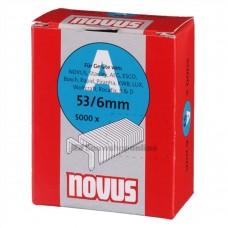 NOVUS DUNDRAAD NIETEN A 53/6MM, 5000 ST.