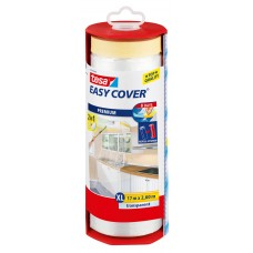 TESA EASY COVER (2-IN-1: AFPLAKBAND + AFDEKFOLIE) AFROLLER 17MX2600MM