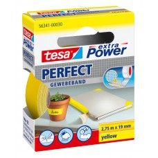 TESA EXTRA POWER PERFECT 2.75M 19 MM GEEL 2.75 19 GEEL