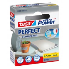 TESA EXTRA POWER PERFECT 2.75M 19 MM GRIJS 2.75 19 GRIJS
