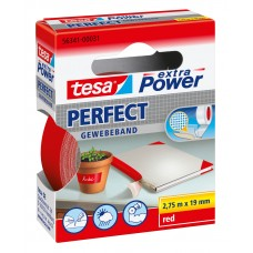 TESA EXTRA POWER PERFECT 2.75M 19 MM ROOD 2.75 19 ROOD
