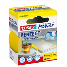 TESA EXTRA POWER PERFECT 2.75M 38 MM GEEL 2.75 38 GEEL