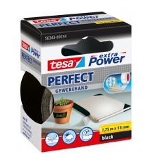 TESA EXTRA POWER PERFECT 2.75M 38 MM ZWART 2.75 38 ZWART