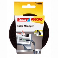 TESA VELCRO CABLE MANAGER 5M:10MM 5 10 TRANSPARANT