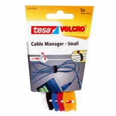 TESA VELCRO CABLE MANAGER SMALL 200MM:12MM 0.2 12 TRANSPARANT