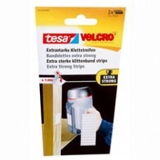 TESA VELCRO EXTRA STERK STRIPS WIT 100MM:50MM 0.05 100 WIT