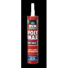 BISON PROF POLY MAX® HIGH TACK WIT KOKER 425 G