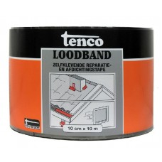 TENCO LOODBAND ZELFKLEVEND 10 CM X 10 MTR