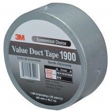 3M™ ECONOMY DUCT TAPE 1900, ZILVER, 50 MM X 50 M