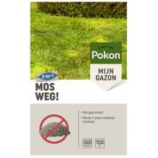 POKON MOS WEG! 100 M2 OMDOOS
