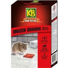 KB MUIZEN GRANEN (ROOD) MET LOKSTATION 2 STUKS OMDOOS