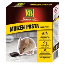 KB MUIZEN PASTA (ZWART) MET LOKSTATION 2 STUKS OMDOOS