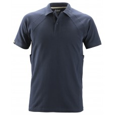 POLO SHIRT MET MULTIPOCKETS™, DONKER BLAUW (9500), L