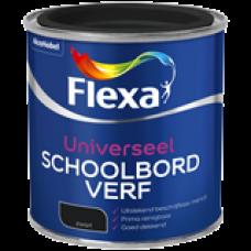 FLEXA SCHOOLBORDVERF ZWART 250ML