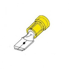 GEISOLEERDE VLAKSTEKER 6,3X0,8MM VOOR DRAAD 4,0-6,0 MM²