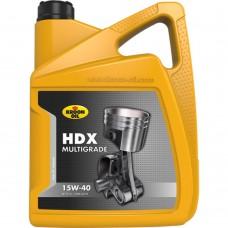 5 L CAN KROON-OIL HDX 15W-40