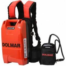DOLMAR ACCU RUGPACK 36V 12AH 432WH INCL. 2 X 18V ADAPTER