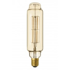 CALEX LED FULL GLASS LONGFILAMENT TOWER 220-240V 11W E40 TT75, GOLD 21