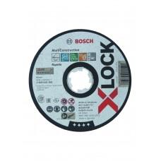 X-LOCK SLIJPSCHIJF MULTI CONSTRUCTION 125X1X22.23MM, RECHT