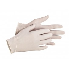 WEGWERP HANDSCHOEN LATEX WIT XL/10