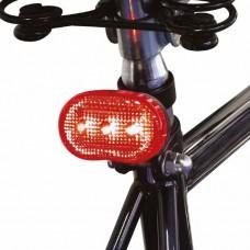 KATE BIKE ACHTERLICHT (ROOD) 2 X R03 BATT 3 X LED