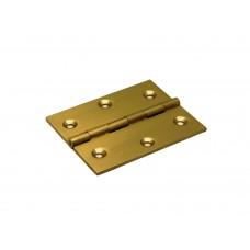 H161-50402102 / SMALSCHARNIER 50X40X1,8MM VASTE PEN MESSING