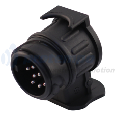 MINI-ADAPTER AUTO 13-POLIG (JAGER SYSTEEM) - AHW 7-POLIG