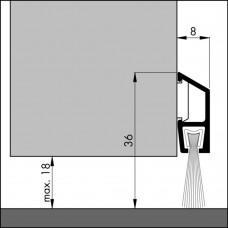 TOCHTPROFIEL/DORPELPROFIEL IDS-BA-100 (DE LUXE)
