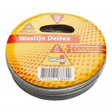 WASLIJN DELTEX TRANSP. 25 M 3.5MM