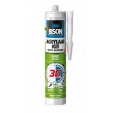 BISON ACRYLAATKIT 30 MIN WIT CRT 300ML*12 NLFR