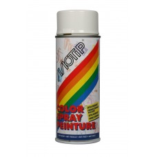 MOTIP COLOURSPRAY MAT RAL9010 HELDER WIT 400ML