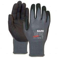 M-SAFE NITRI-TECH FOAM, ZWART/GRIJS, 11