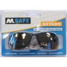 M-SAFE V-BRIL NEVADO BRUIN ZWART M.BLIST