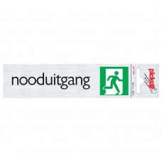 ROUTE ALULOOK 165X44 MM NOODUITGANG