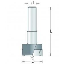 B700-8 HM CILINDERKOPBOOR , D= 35