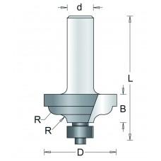 93-8 HM PROFIELFREES , D= 34,9, R= 4,8
