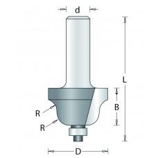 81-8 HM ROMEINSE OGIEFFREES , D= 25,4, R= 4