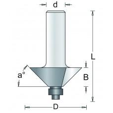 87-8 HM HOEKFREES 45° , D= 31,8, A= 45