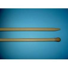 SCHRAPERSTEEL TAUARI 170X3,0 CM. MET EXCENTRISCHE PUNT, VOORZIEN VAN D